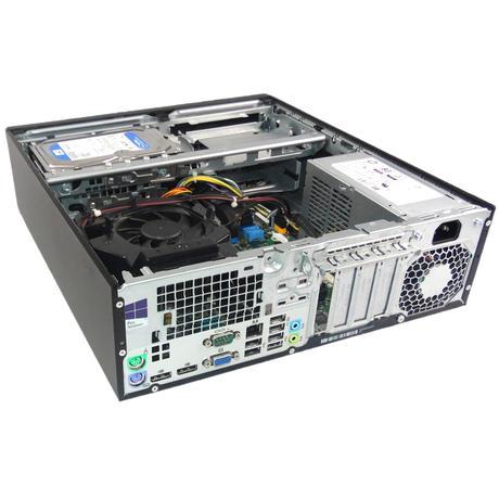 HP Elitedesk 800 G2 SFF Pentium G4400 @3.30GHZ 8GB RAM 500GB HDD NO OS Thumbnail 2